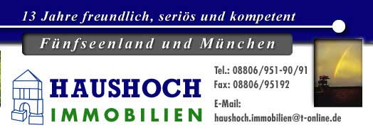 Haushoch Immobilien Utting/Ammersee